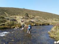 4 Day Backpacking Hike, approx 50 km, Grade 4. Wheeler's Hut, Pretty Plain Hut,Cascade Creek Aqueduct.