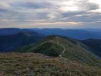 Mt Feathertop via Nth West spur track grade 4-5 hike 22.5km