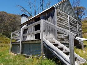 silver brumby hut