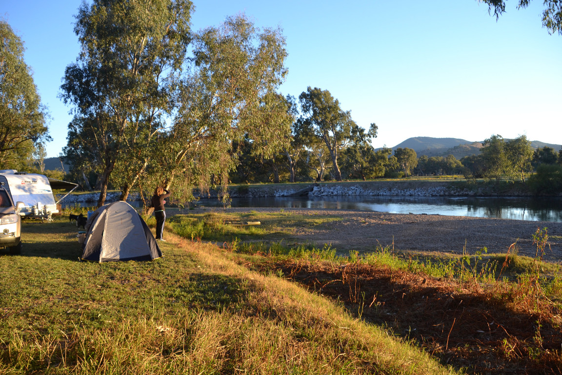 campsite clarkes lagoon