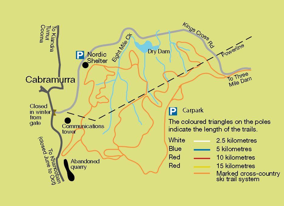 cabramurra trails